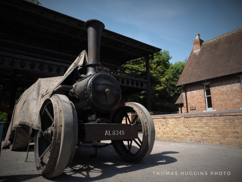 There's nothing like a steam engine to set the scene.